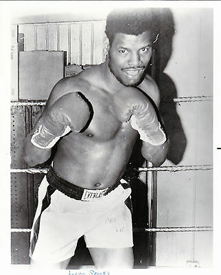 LEO SPINKS 8X10 Photo BOXING BLACK AND WHITE PICTURE  4 LOT