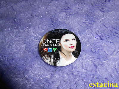 Once Upon a Time Promotional Button / Pin, Mary Margaret Snow White Fan Expo