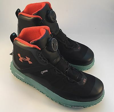Under Armour Fat Tire Gtx Gore-Tex Boa Hiking Boots / Trail Shoes New! Size 9