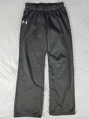 Boy's Under Armour Youth Large YLG Grey Loose Fit Sweatpants