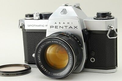 EXC+++ Asahi Pentax Spotmatic F 35mm - Super Takumar 55mm f1.8  from Japan #525