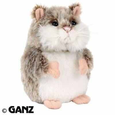 "Webkinz Willow�- MAZIN'�Hamster Grey/White Plush - First Edition 4"" (10cm)"