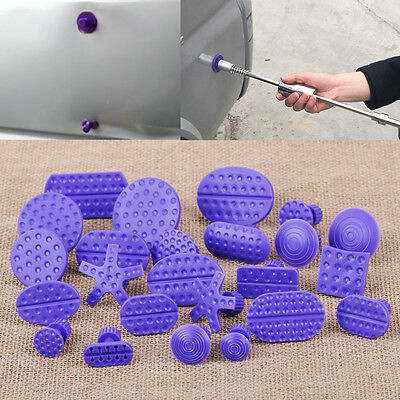 24 x Purple Car Auto Body Hail Dent PDR Glue Puller Lifter Repair Tab Tool Kits