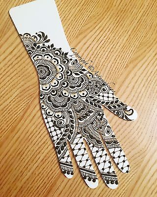 Strong White Top Quality Medium Acrylic Practice Henna/Mehndi Hand!