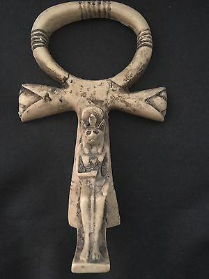 Rare  Egyptian Ankh Key Of The Life Pendant - 600 Bc