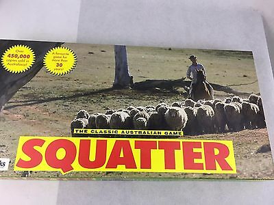 Squatter Board Game - The Classic Australian Game - 1960 - Playworks -