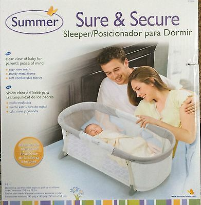 SUMMER Bed Nursery Basket Baby Infant Crib Newborn Sleeper Bassinet Mesh Travel