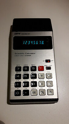 APF Mark 51 vintage led scientific calculator tested
