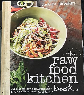 The Raw Food Kitchen Book by Amanda Brocket (Paperback, 2015)