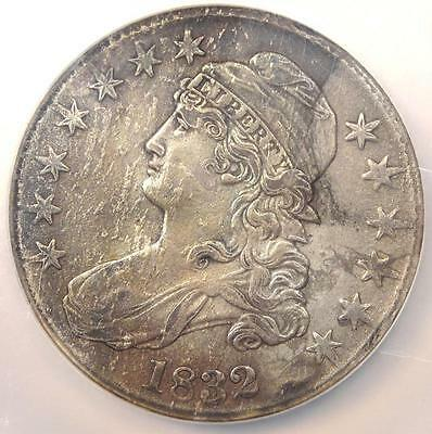 1832 Capped Bust Half Dollar 50C O-108 - NGC AU Details - Rare Certified Coin!