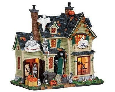 Lemax Spooky Town - Scariest Halloween House - 25330