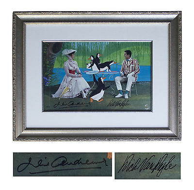 Julie Andrews & Dick Van Dyke Signed Mary Poppins Limited Edition w/Disney COA