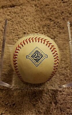 2017 Yankees Starlin Castro, Gary Sanchez SINGLE Holliday K Game Used Baseball