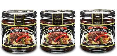 Better Than Bouillon Beef Base 8oz Pack of 3
