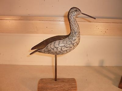"10"" Yellowlegs by Harry V. Shourds, Tuckertown, NJ ""COOT"" brand on bottom"