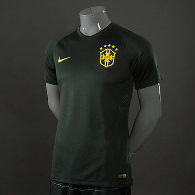 Nike Brazil  Authentic World Cup Third Soccer Jersey Player Issue Neymar Alves