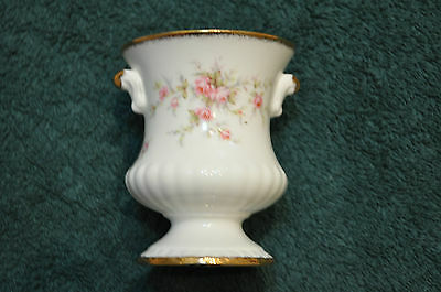 Lovely Paragon Victoriana Rose Small Vase Or Urn