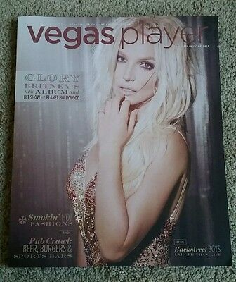 Britney Spears 2016 Vegas Player Magazine Piece of Me Show Las Vegas Exclusive
