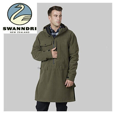 Swanndri Mens Tundra Fleece Anorak 3 Layer Bonded Lining Nz Outdoors Camping