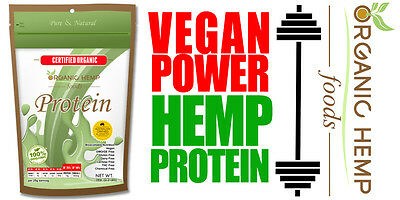 Hemp Protein Powder 1Kg 100%organic Vegan Power!