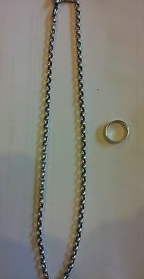 """Lone Ones 17"""" necklace and size 4 ring"""