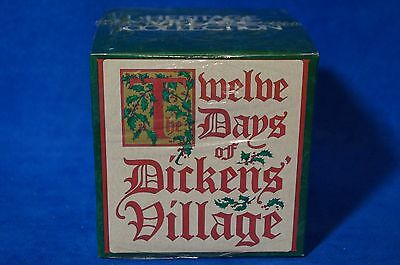 Dept 56 Twelve Days Of Dickens Village Eight Maids A Milking  Nib Factory Sealed
