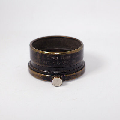 Early Leica FISON Lens Hood for Elmar 50mm A36 LTM Ernst Leitz Wetzlar