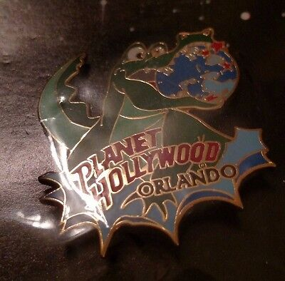 Planet Hollywood Orlando Pin - Alligator and Planet Pin