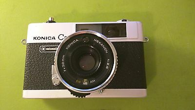 [Very Good] Konica C35 Automatic with Leather Case