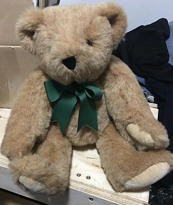 Vermont Teddy Bear 15 Inch Stuffed Animal Jointed Poseable Handmade In The USA