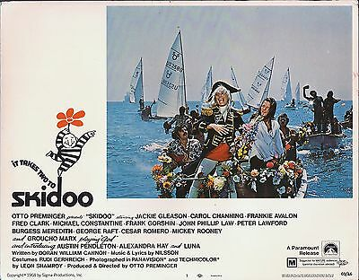 CAROL CHANNING, It Takes Two To Skidoo ('69) Lobby Card #7