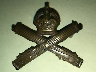 WW1 CEF OR's Collar Badge  - Canadian MG Corps - Imperial Issue
