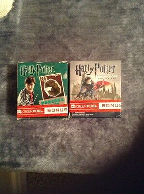 Harry Potter Geek Fuel Horcrux And Snow globe Plus Sticker Kit
