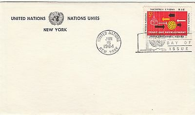 United Nations 5c First Day Cover FDC Trade & Development 1964