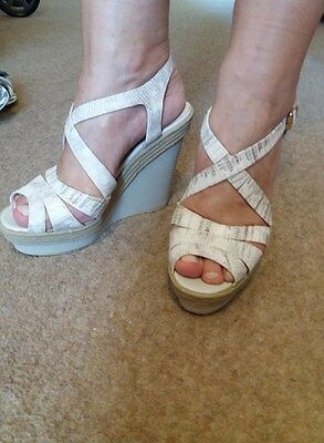 Womens summer shoes sandals platform size 5uk 38 Charles&Keith
