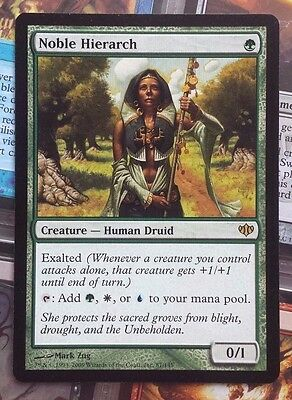 MTG 1x NOBLE HIERARCH - NM - CONFLUX Rare Human Druid