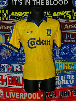 4/5 Brondby IF adults M 1997 football shirt jersey trikot soccer