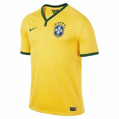 Brand New Authentic Nike Brazil Home Jersey World Cup 2014 SZ XL RRP $119.99