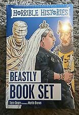 Horrible Histories. Beastly Book Set. 10 Books. New. Still In Wrapping