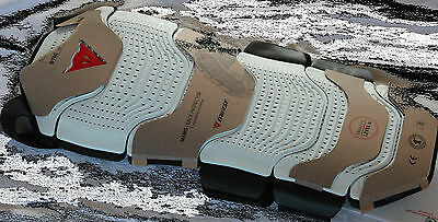 Dainese Manis Winter 49 - white - Back Protector Adult Size M New