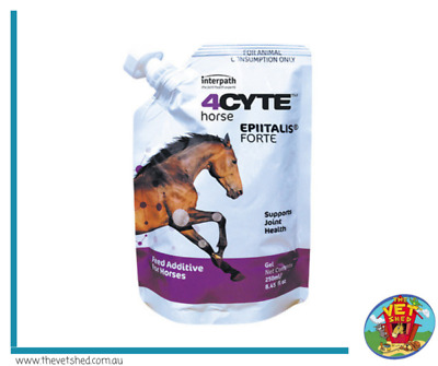 4Cyte Epiitalis Forte Gel 250mls Joint supplement for horses