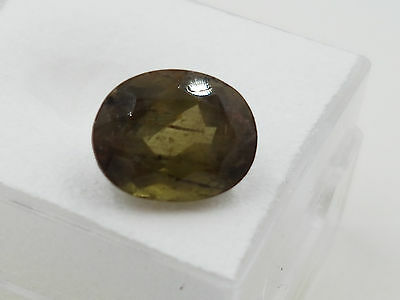 3.79ct natural earth mined Andalusite oval cut