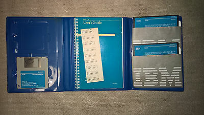 """IBM DOS 3.30 RARE VINTAGE OPERATING SYSTEM 3.5"""" and 5.25"""" Floppy + USER GUIDES"""
