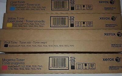 Xerox wc75xx Toner Full Set