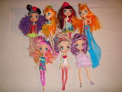 Large Lot Of La Dee Da Dolls Made By Spinmaster