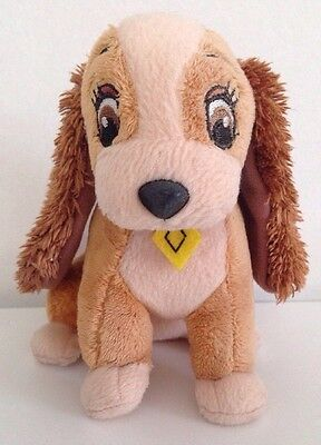 """6"""" Lady Buena Vista Promotional Plush Disney Lady And The Tramp"""