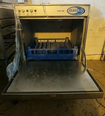 commercial glass washer DUO 750 CLASSEQ