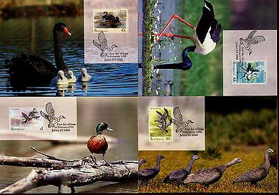 Australia Maximum / Maxi Cards - Complete Set - 1991 Waterbirds of Australia
