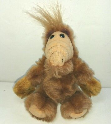 Coleco Alf plush soft toy doll Suction cup hands Vintage 1988 1980s Small Mini