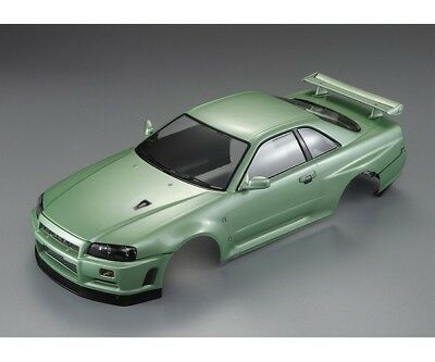 Killerbody KB48646 Nissan Skyline R34 195mm Champagner Grün lackiert, RTU all-in